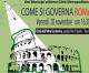 COME SI GOVERNA ROMA – incontro 20 novembre 2015