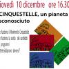 Incontri: CINQUESTELLE, UN PIANETA SCONOSCIUTO- 10 dicembre