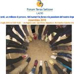 Programma Assemblea Forum TS Lazio 2 luglio 2018
